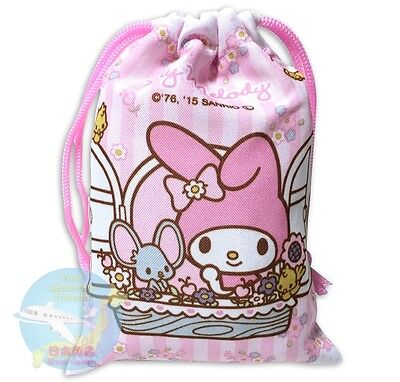 SANRIO My Melody KAWAII Japanese style Drawstring Bag Pouch Accessory Case