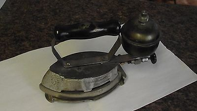 Antique Collectable Coleman Instant Lite Kerosene Clothes Iron 20's 30's era