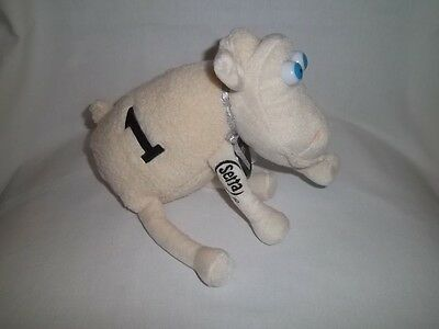 SERTA Mattress Plush Counting # 1 SHEEP Doll Stuffed Animal White Animal Toy