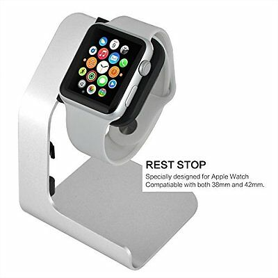 Apple Watch Charging Stand for 38mm and 42mm Apple Watch Scratch Proof Aluminum