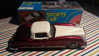 Lucky Sports Car - Vintage Toy Boxed