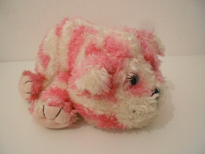 """BAGPUSS - 10"""" GLITTERY  BAGPUSS SOFT TOY - OLIVER POSTGATE 2002 by GOLDEN BEAR"""