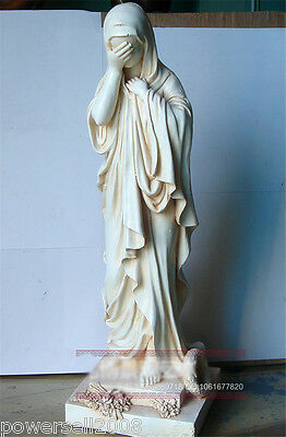Catholic Church Christian Blessed Virgin Mary Statue Decoration Gift Holy -