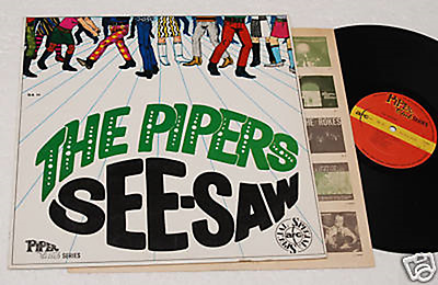 lp THE PIPERS : SEE SAW - ORIGINALE ITALY 1967 EX