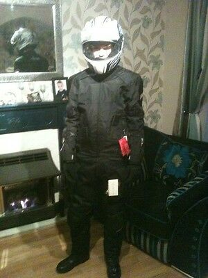 Mens RST 2 piece Motorbike Suit with Boots and gloves