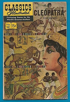 Classics Illustrated Comic 1964 Cleopatra by H Rider Haggard #867