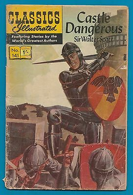 Classics Illustrated Comic Book  # 141 Castle Dangerous by Sir Walter Scott #763
