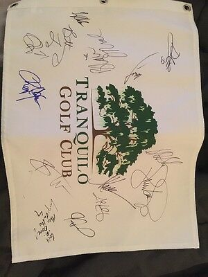 Tranquilo Golf Club Four Season Signed Golf Pin Roger Clemens Fitzgerald, Allen