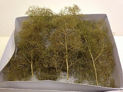 War World Scenics Medium Seafoam Trees 110mm -Sea Foam Modelling Scenery Terrain