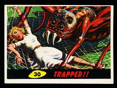 1962 TOPPS MARS ATTACKS CARD # 30 ~ TRAPPED !! ~ NM Or Better Corners