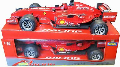 1:12 Scale Toyrific Red Racing Car Friction Powered Toy With Sound And Light