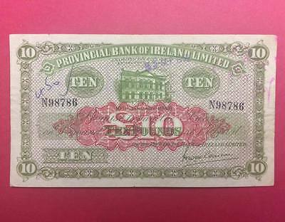 Provincial Bank Of Ireland Limited £10 1948