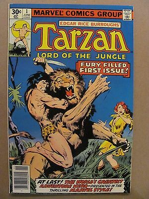 Tarzan #1 Marvel Comics 1977 Series 9.2 Near Mint-