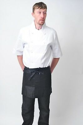 Short Waist Apron With No Pocket For Bar Cafe Pub Waiters Waitress ,Cleaners,
