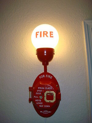 Gamewell Fire Alarm or Fire Call Box Light fits all brands (Free adap Inst. Kit)
