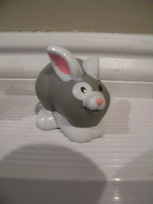 Fisher Price Little People Camping RABBIT BUNNY FIGURE Replacement