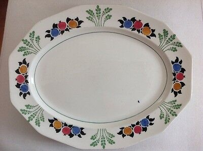 "BOOTHS SILICON CHINA ""POMONA"" Made in England serving platter"