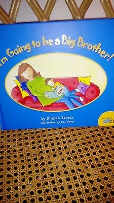 im going to be a Big Brother by Brenda Bercun a new hardback and cd book