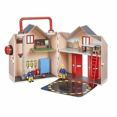 NEW FIREMAN SAM DELUXE FIRE STATION PLAYSET Damaged Box Product Fine