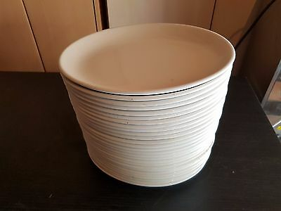 36 Churchill Whiteware and Athena Oval Platters 254mm 10inch X 36 Plates