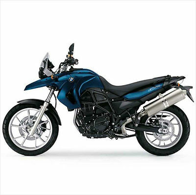 2008-2009-2010-2011-2012 BMW F650GS Twin RepROM Service Manual DVD  Multilingual