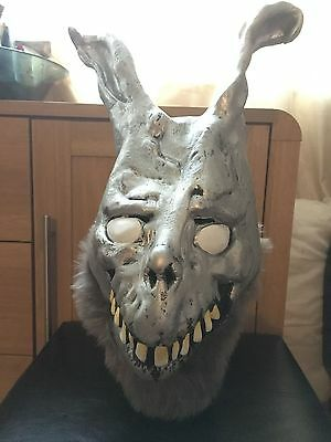 Donnie Darko Frank the Bunny Latex Overhead Mask with Fur great for Halloween!