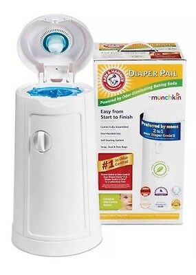 Arm & Hammer - Diaper Pail by Munchkin (NEW)