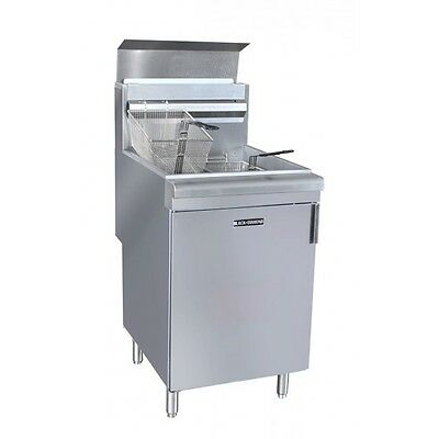 Commercial Deep fryer 70lb frialator 150K BTU NAT or LP Gas
