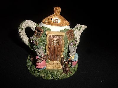 Vintage Possible Dreams Decorative Mouse Teapot - Very Cute!