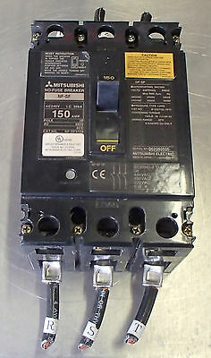 MITSUBISHI NF-SF3150 CIRCUIT PROTECTOR Used Cut Out