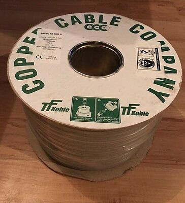 100m x 1.0mm 3 Core And Earth Cable