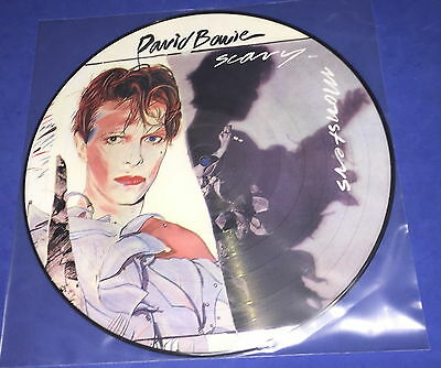 DAVID BOWIE_Scary Monsters (Picture LP) MINT