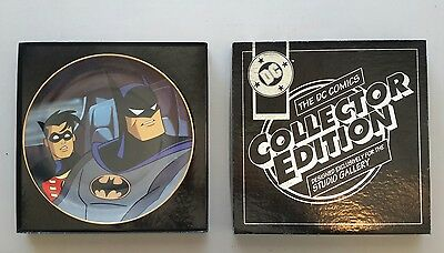 RARE WB Batman The Animated Series 1994-DYNAMIC DUO - COLLECTORS plate 1664/2500