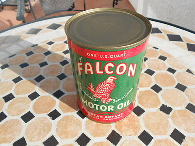 Falcon Quart Motor Oil Display Can Unopened