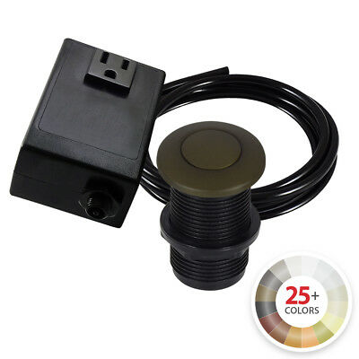 Northstar Decor Garbage Disposal Sink Top Air Switch Kit (Available 10 Finishes)