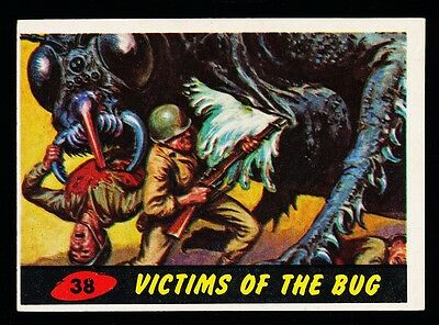 1962 TOPPS MARS ATTACKS CARD # 38 ~ VICTIMS OF THE BUG ~ EX-MT Or Better