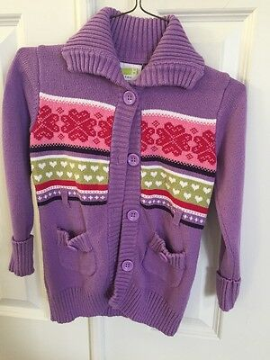 Crazy 8 Girl's Size 5-6 Cardigan Sweater