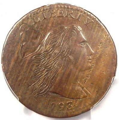 1793 Liberty Cap Large Cent 1C S-12 R6 - PCGS VG Details - Rarity-6 Variety!