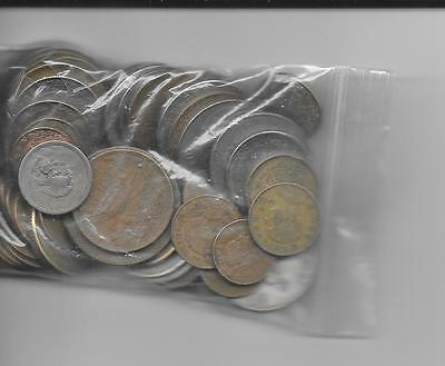 Mexico lot of 62 mixed coins