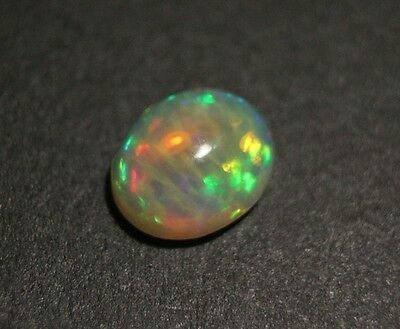 3.6ct Welo Crystal Opal Cabochon - Unique Tiger Stripe AAA Jelly Opal -See Video