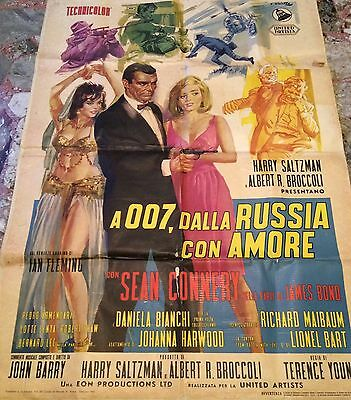 From Russia With Love Original James Bond Italian Movie Poster
