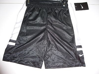 Nike  Boys  Black/White  Shorts   Size 5   NWT