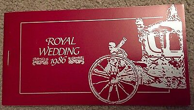 1986 Royal Wedding Booklet - Saint Lucia - Stamps