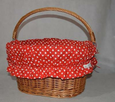 Brand New Bicycle Wicker Basket Lining,