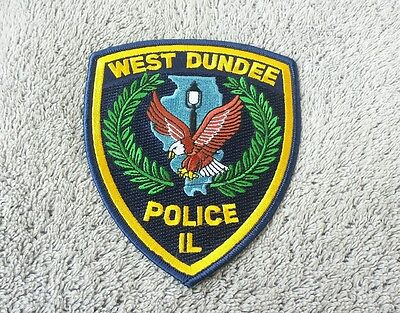 West Dundee Illinois Police Shoulder Patch
