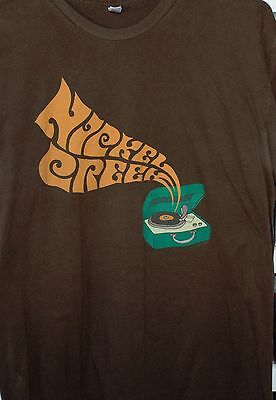 Nickel Creek Xl Record Player Shirt Vg Preworn
