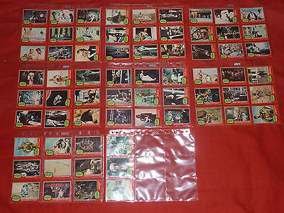A Complete Set Of The Red Star Wars Topps Trading Cards (66 Cards) Series From 1