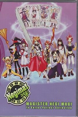 Negima Magister Negi Magi in English Audio Complete DVD Set  *FREE SHIP*