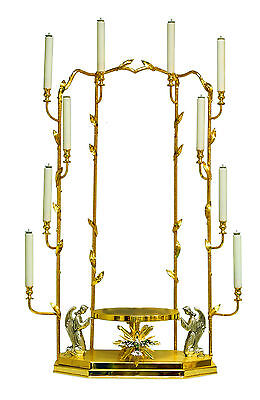Tronetto per ostensorio dorato gilded throne for monstrance trône thron tron