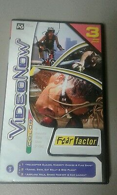 Fear Factor 2004 Video Now  3 Disc Pack PVDS EUC Tested